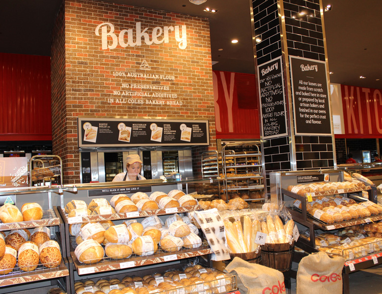 طراحی فروشگاه نان