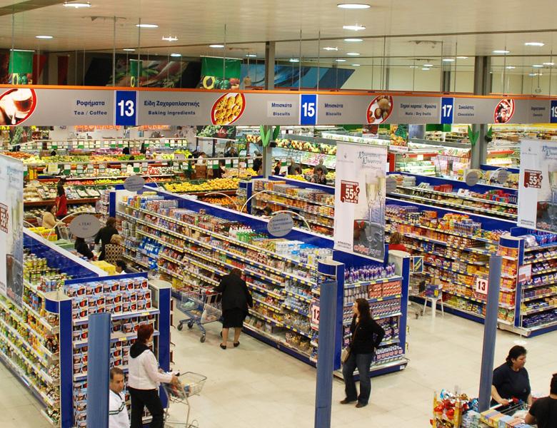 طراحی هایپرمارکت سوپرمارکت